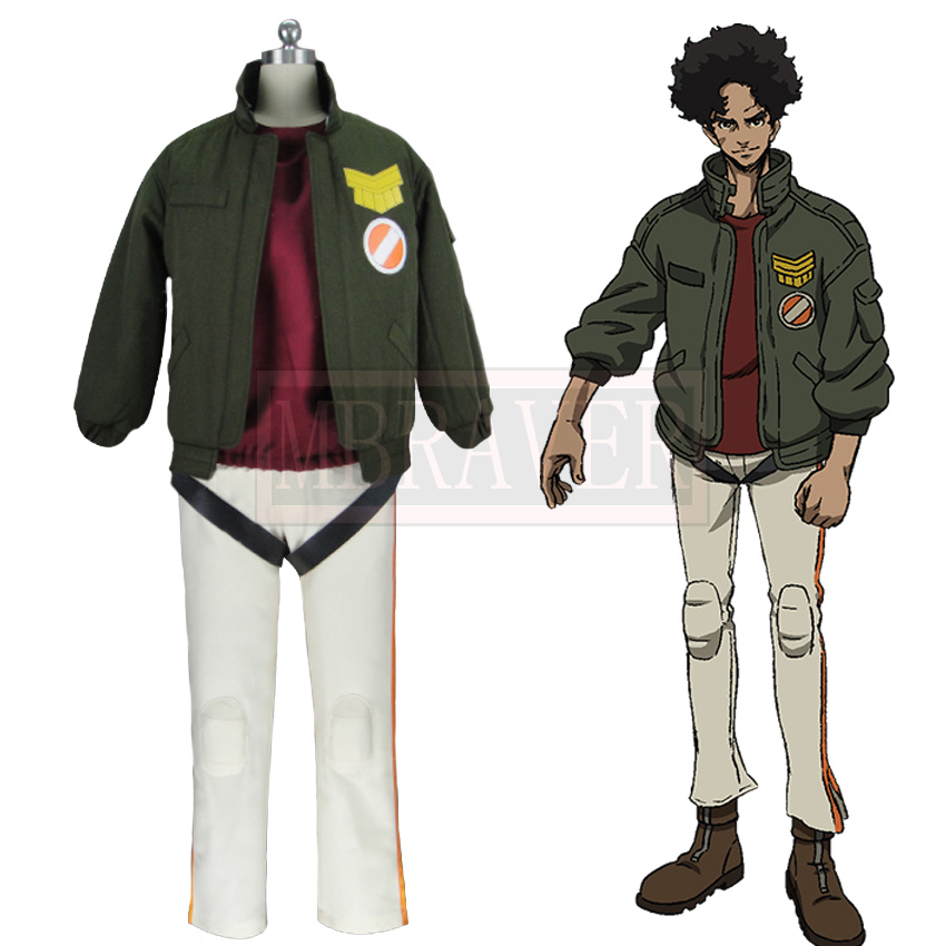 MEGALO BOX JNK DOG Cosplay Costume Christmas Halloween Custom Made Any Size