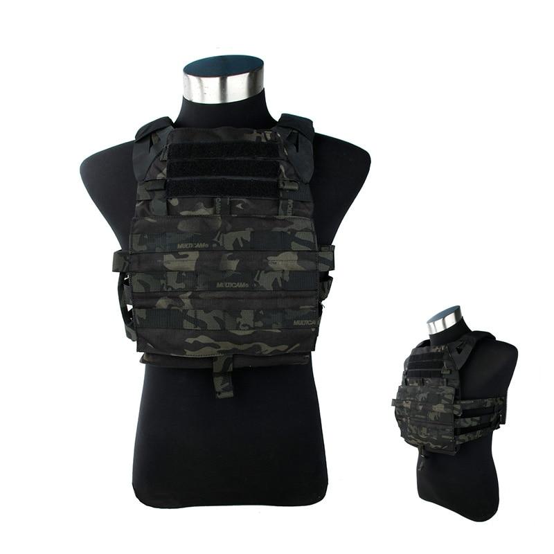 2018 Versione Jpc2.0 Mcbk Tactical Vest/piastra Di Supporto Multicam Nero Molle Con Inserto Piatti Importato 500d Nylon