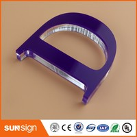 Wholesale 3d Signage Display Lucite Acrylic Letter Sign