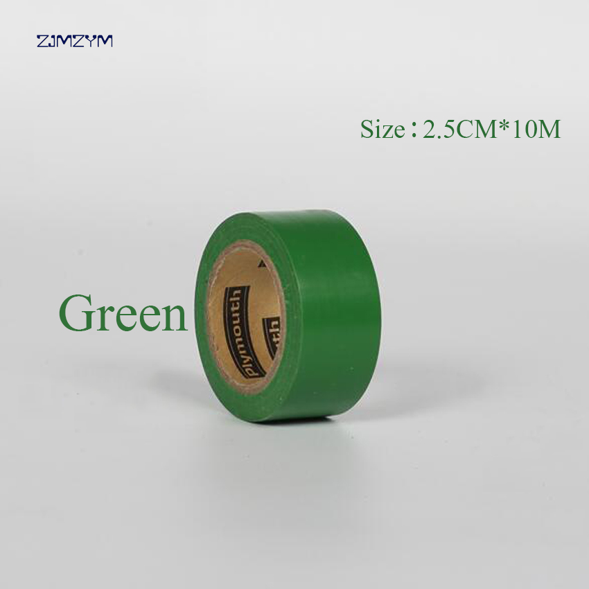 Multi-color 2.5cm * 10m ultra-thin waterproof insulation electrical tape electrical flam ...