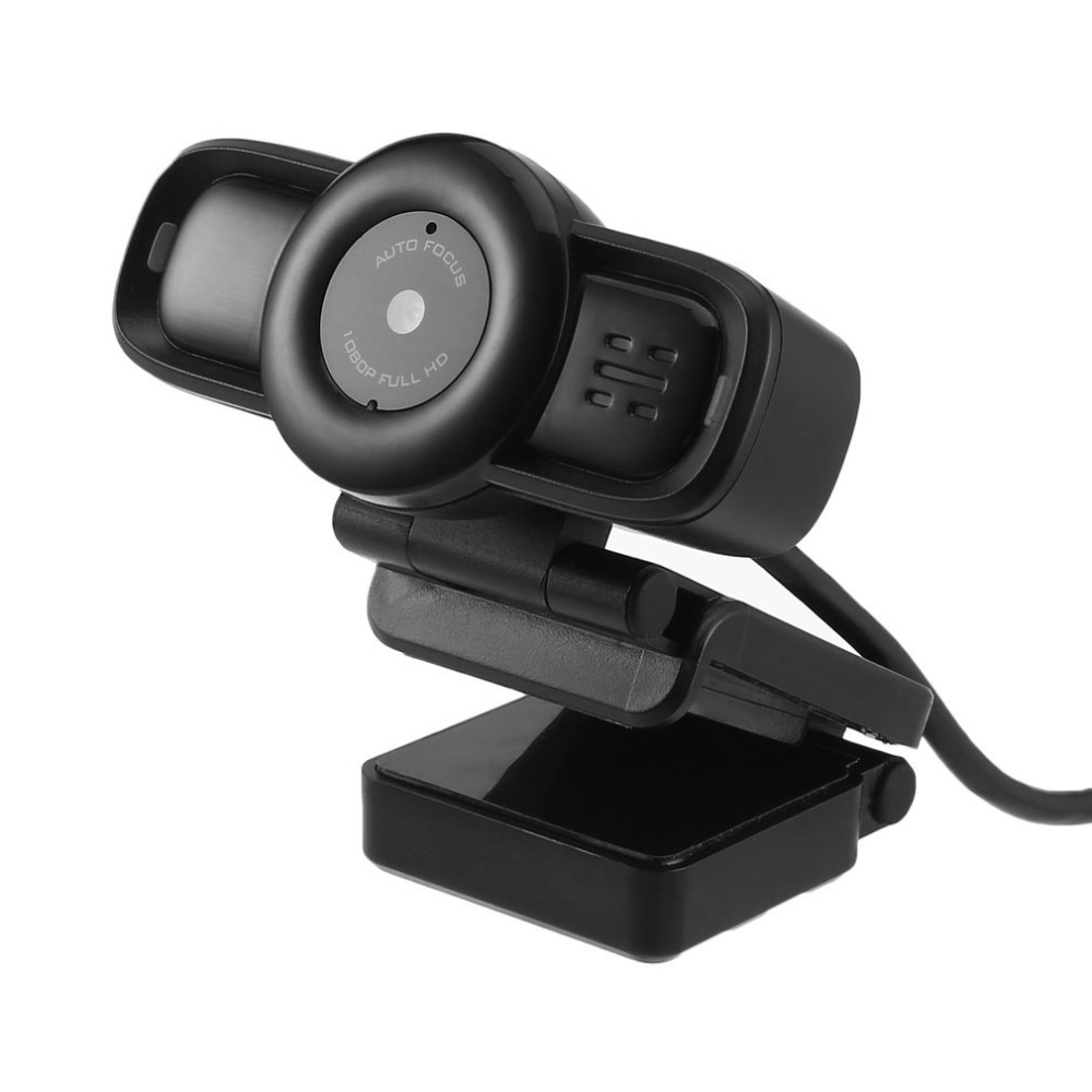 USB Mini Camera Auto Focus Webcam HD 1080P Digital Computer Camera with Built-in Noise Cancelling Microphone for Computer a7260 pc webcam usb 720p built in mic 360° rotating computer camera