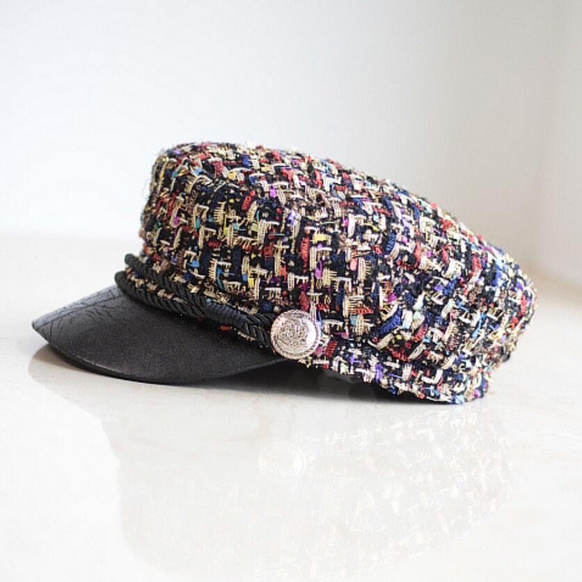 ea816ed8c89 MinanSer Vintage Newsboy Cap Men s Cadet Women jacquard weave Military  baker boy caps British Classic Female Gatsby Flat Hats -in Military Hats  from Apparel ...