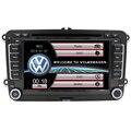 Capacitivo 7 polegada 2 din carro dvd player para volkswagen vw passat b6 golf 5 vw Sat Nav com GPS de Navegação Rádio Estéreo de Áudio BT
