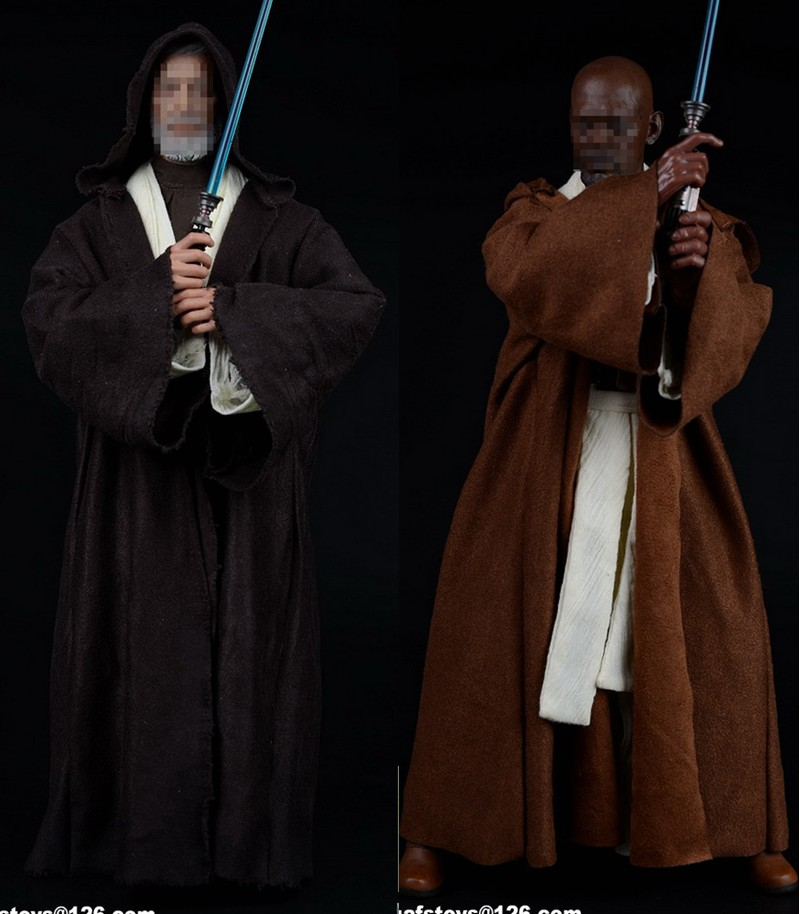 купить 1/6th figure clothing accessory Star Wars Jedi Temple warrior clothes set for 12