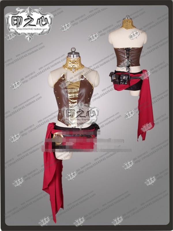 Anime RWBY Pyrrha Nikos Any Size Cosplay Costume Shirt+Dress+Gloves nikos nicolaou