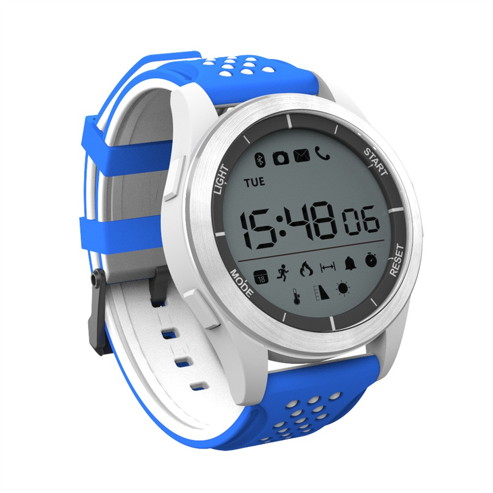 US $22 21 5% OFF|NO1 F3 IP68 Waterproof Sleep Monitor Pedometer Sport BT  SmartWatch iOS Android Smart Watch Waterproof Z1101 DROPSHIP-in Smart