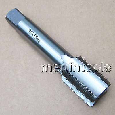 ФОТО 30mm x 1.5 Metric HSS Right hand Tap M30 x 1.5mm Pitch