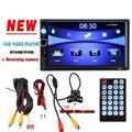 """7 """"HD Jogador Rádio Do Carro Câmera de Visão Traseira Do Bluetooth Estéreo FM MP3 MP4 MP5 Áudio e Vídeo USB carregador Auto Eletrônica autoradio 2 DIN"""