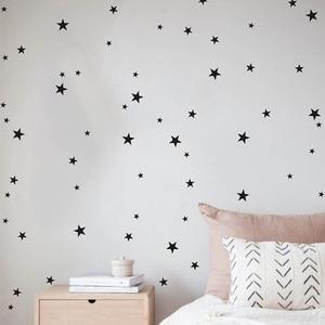 Image 4 - Autocollant mural étoile multi taille 50 pièces/paquet