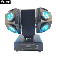 New 12X10W RGBW 4IN1LED Laser Beam Moving Head Light DMX512 Sound Party DJ Lights Disco Ball Laser Beam Moving Head Lighting