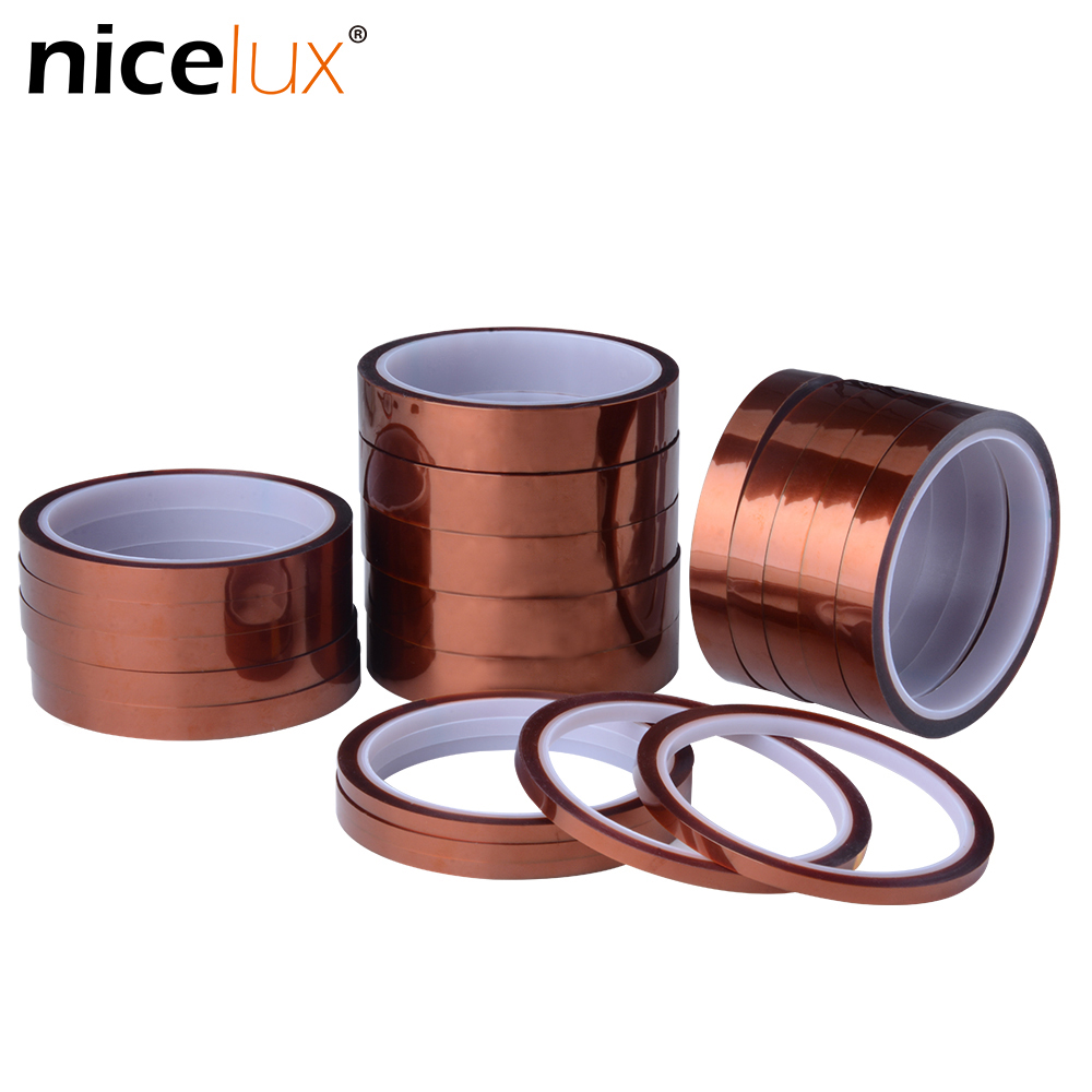 33meter-x-5-30mm-high-temperature-polyimide-tape-heat-resistant-insulation-kapton-polyimide-film-adhesive-tape-10mm