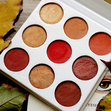 Flossy Sunflower 9 Color Makeup Eyeshadow Pallete Makeup brushes Make up Palette Shimmer Pigmented Eye Shadow Palette maquillage все цены