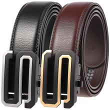 Famous Men Belt Quality Genuine Luxury Leather Belts for S Designer Waist Strap Male Metal Automatic Buckle