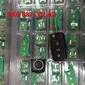 5K0837202AD HU66 clave Remoto de 3 botones 434 Mhz 5K0 837 202 AD para 2012 VW Passat Polo Golf Jetta Tiguan Escarabajo flip clave