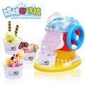 Máquina de gelo crianças meninos e meninas de brinquedo cozinha simulação utensílios de cozinha máquina de gelo