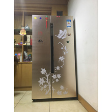 High Quality Creative Refrigerator Black Sticker Butterfly Pattern Wall Stickers