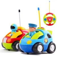 Cartoon R C Race Car Radio Remote Control Toy For Toddlers Boy Birthday Gift For Boy
