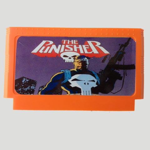 Top Quality Game Cartridge 60 Pins 8 Bit Integrated Game Card Better Than Bean Card — The Punisher