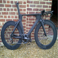 Beteery store New Model Carbon Time Trial bike Carbon TT frame with carbon wheel ful carbon tt bike for sale