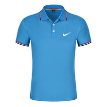 Breathable Men's Polo Shirt For Men Desiger Polos Men Quick drying Short Sleeve shirt Clothes jerseys golftennis Plus Size(China)