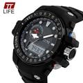 TTLIFE 1063 Sports Watches Men Luxury Brand Outdoor Waterproof Fashion Casual Quartz Digit Military Oversized Men's Watch Hombre