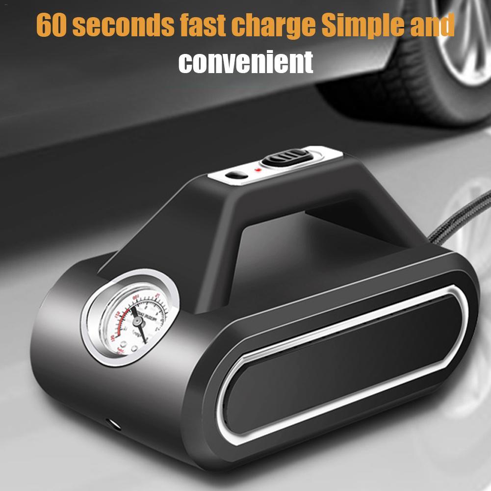 Compresseur d'air Mini gonfleur d'air intelligent sans fil Portable voiture pompe à Air pour Basketball vélos motos voiture bateaux en caoutchouc - 3