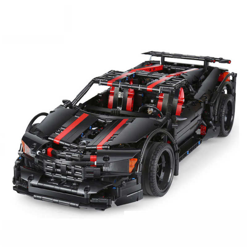 Creative MOC Assassin X19 Model Racing Car Compatible legoingly Technic Building Blocks Bricks Toys For Children Gift