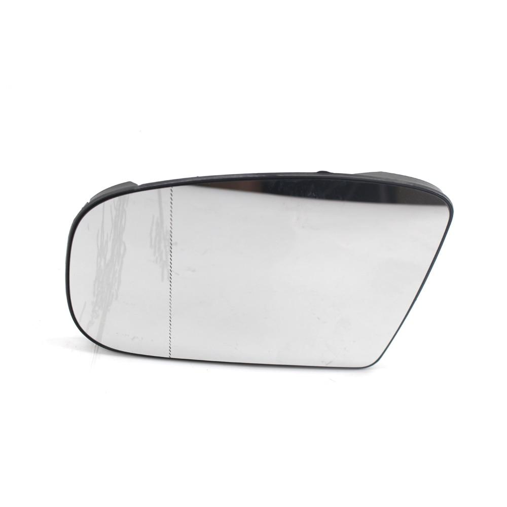 W203 C e classe E W211 lato destro Specchio di vetro trasparente