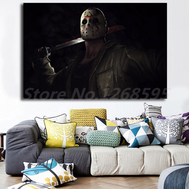Mortal Kombat X Jason Voorhees Hd Wallpaper Canvas Posters Prints