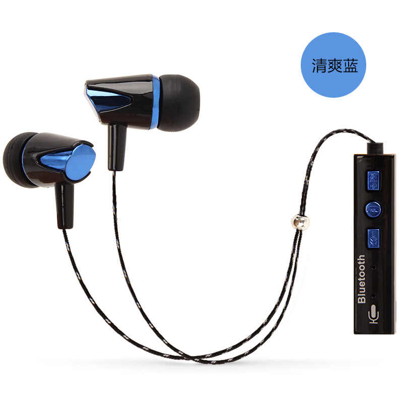 KAPCICE IPX4-rated sweatproof headphones bluetooth 4.2 wireless sports earphones running aptx earbuds stereo headset with MIC