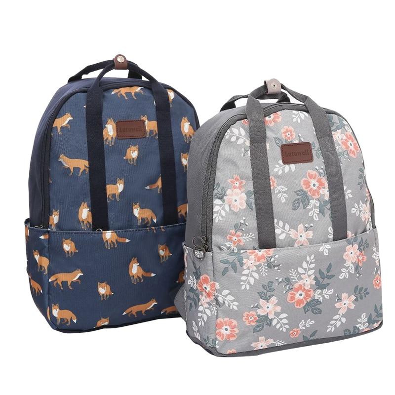 Cartoon Animal Travel Bag Waterproof Women Backpack Bag Portable Travel Tote Bag Drop Shipping