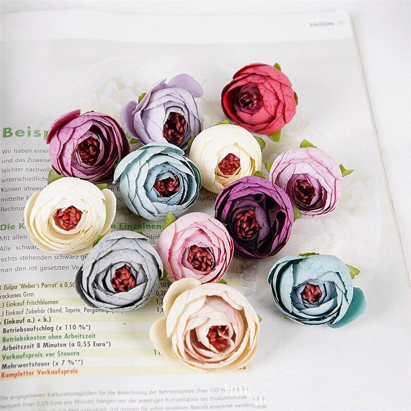 Online Kaufen Großhandel Silk Blume Köpfe Aus China Silk ... Blumen Behaltern Zu Hause