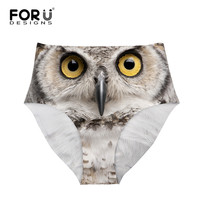 FORUDESIGNS New Women S Underwear Briefs 3D Printing Panty Cat Panties Drop Shipping Sexy Girls Lingerie
