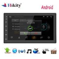 Hikity Car Multimedia player 2 din Android Car Radio Stereo 7'' GPS Navigation Bluetooth Wifi Auto Radio autoradio Stereo Audio
