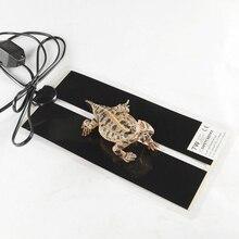 Грелка для домашних животных нагреватель рептилий теплый Черепаха Ящерица паук зимняя грелка вилка Европа/США