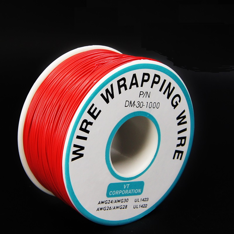 Fios Elétricos soldagem 0.25mm wire-wrapping fio 30awg Tipo Pacote Peso : 0.122kg (0.27lb.)
