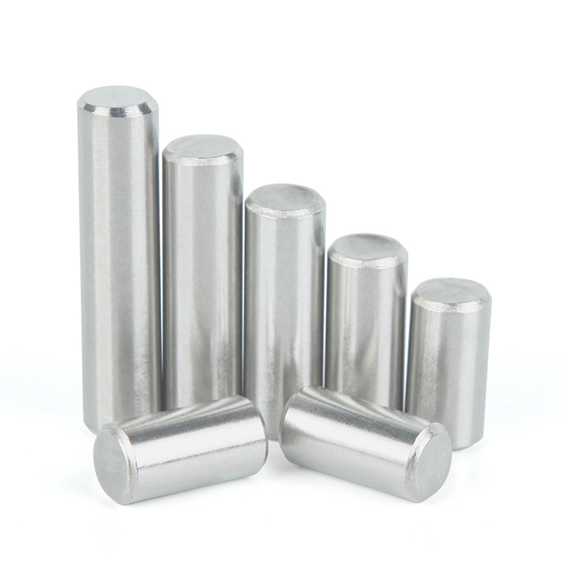 10PCS M3 M4 GB119 304 Standard Stainless Steel Cylindrical Locating Fixed Pin Solid Pin
