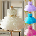 Flower Girl Christening Wedding Party Pageant Dress Baby First Communion and Toddler Gowns Child Bridesmaid Clothing