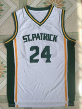 d6dc45baf  24 Kyrie Irving St. Patrick High School White Basketball Jersey Throwback  White(China
