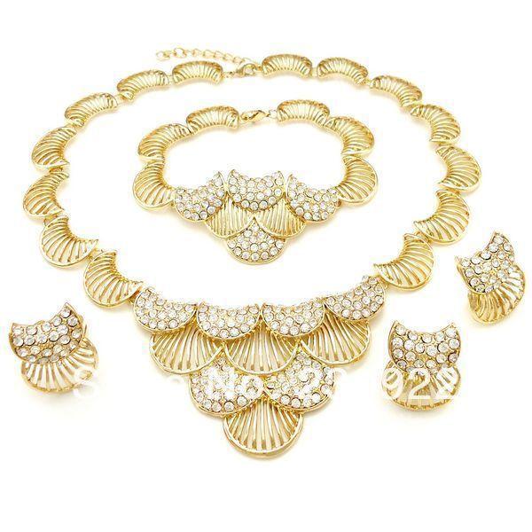 2014 24 carat gold jewelry sets Pakistani bridal dubai gold