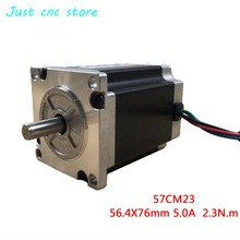 цена на Leadshine Nema 23 two Phase Stepper Motor 57CM23-5A  1.8deg CNC machine engraving machine