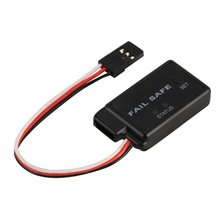 4.8-6V Accelerator Fail Safe Protector Suit For All RC Car Truck Buggy Failsafe Spare Parts with LED Indicator Servo Receiver цена