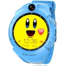 TURNMEON GPS Smart Watch Tracker для Детей, смарт Слежения с Камерой Сенсорный Экран СВЕТОДИОДНЫЙ Фонарик Anti Потерянный для Детей