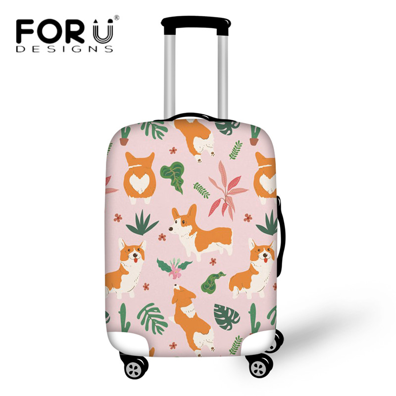 Luggage & Bags Coloranimal 3d Ball Print Suitcase Case Cover Waterproof Travel On Road Luggage Cover 18-30inch Welsh Corgi Protectiver Cover Discounts Sale Travel Accessories
