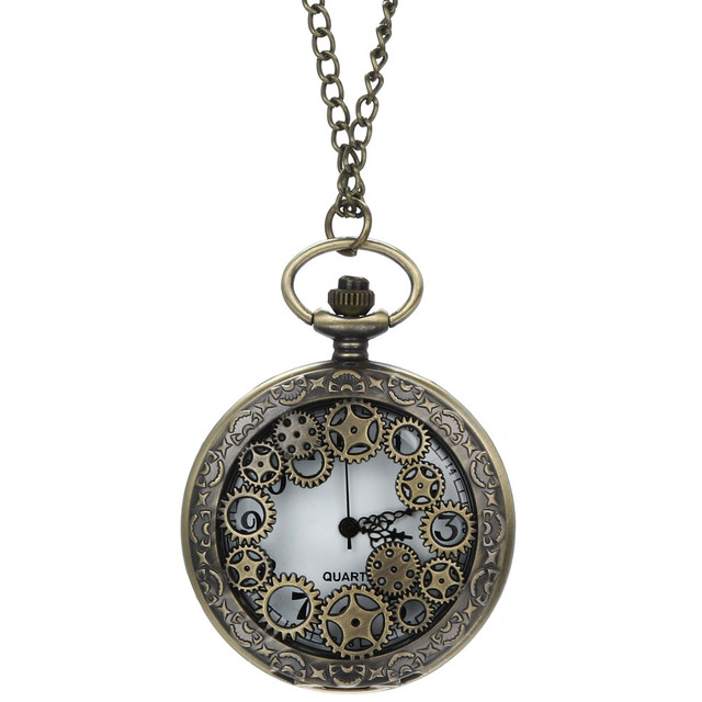 New Fashion men women watches Vintage Chain Retro The Greatest c Necklace For Grandpa Dad Gifts Pocket watch Bayan Kol Saati