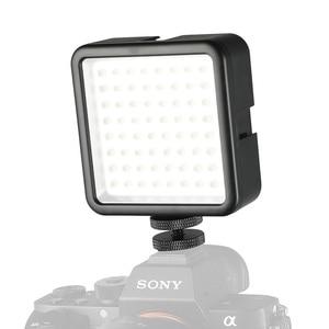 Image 2 - SUPON 64 LED 사진 비디오 라이트 램프 카메라에 핫슈 LED 조명 아이폰 캠코더 라이브 스트림 사진 조명