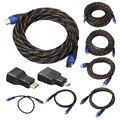 0.5/1/1.8/3/5/10/15 СМ Плетеный HDMI к Mini HDMI Micro HDMI Кабель V1.4 позолота Адаптер Конвертера для Xbox 360 HDTV Tablet