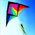 Envío de la alta calidad 2.8 m knight delta kite mosca varilla de un la rueda de la cometa de weifang kite kite inflable de juguete de aves exóticas para la venta 3d