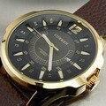 2016 nuevo Top marca de lujo Curren hombres Casual relojes hombres de Quartz Date reloj hombre deportivo de cuero relojes militar reloj de pulsera