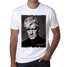 GILDAN Quality T Shirts Men Printing Short Sleeve O Neck Tshirt David Lynch Men's T-shirt Celebrity Star One In The City